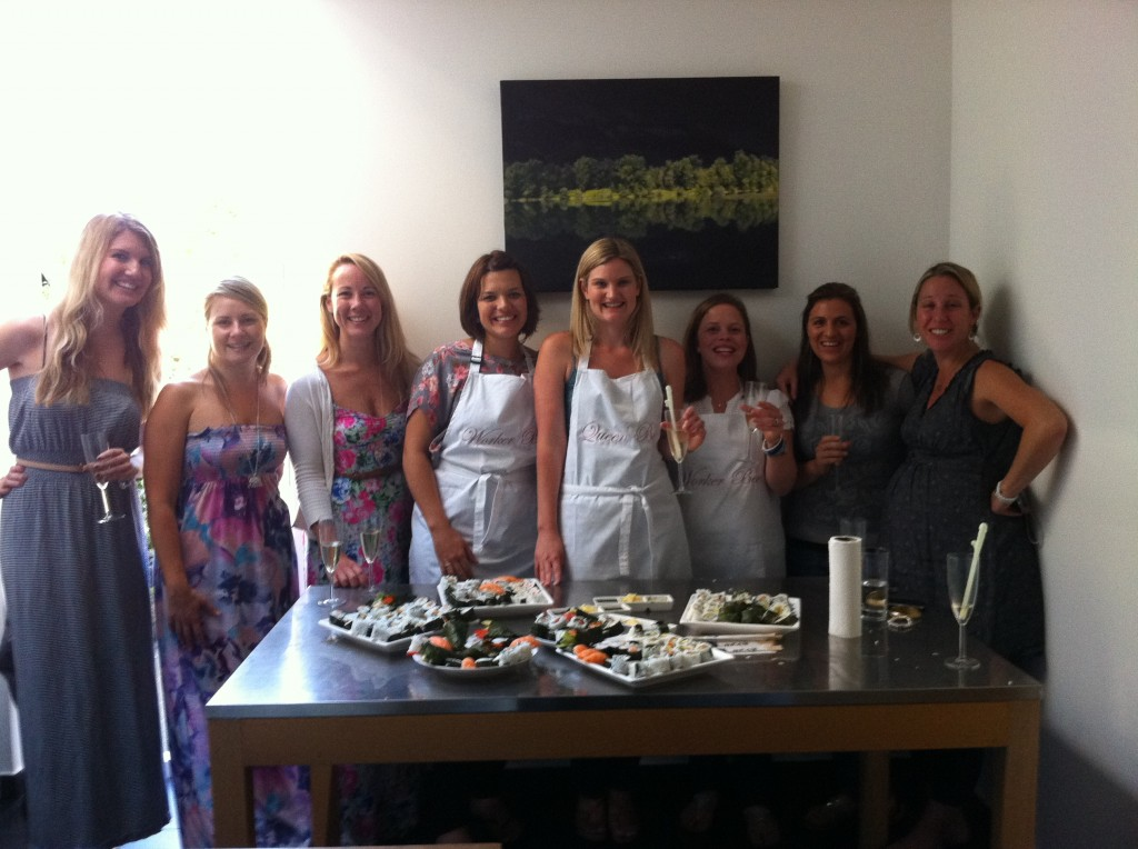 sushi Hen nite party