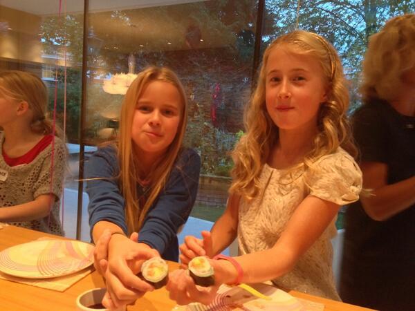 Kids Sushi making party