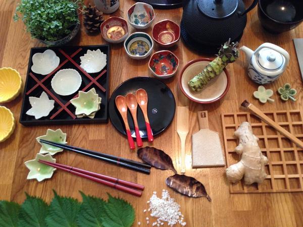 Japanese sushi cookery