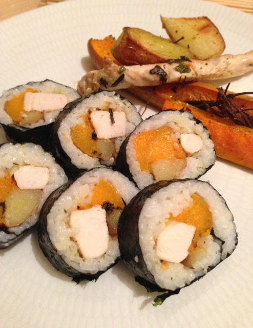 Sunday Roast Sushi? Let's roll your Sushi with your Sunday Roast